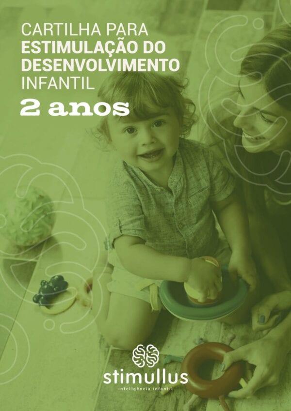 eBook - Cartilha para estimulação do desenvolvimento infantil - 2 anos - Método BRINC - Dra. Fernanda Monteiro