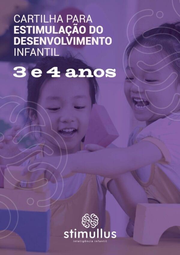 Baixe o eBook - Cartilha para estimulação do desenvolvimento infantil - 3 e 4 anos - Método BRINC - Dra. Fernanda Monteiro